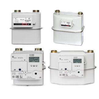 Бытовые газовые счетчики для дома и квартиры