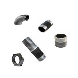 Фасонные стальные и никелированные детали